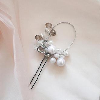 Свадебная шпилька для прически, свадебная шпилька для волос