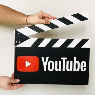 Персонализированная кинохлопушка YouTube