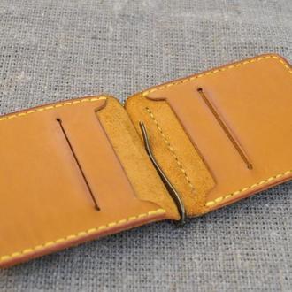 Качественный кожаный зажим для денег Z02-180