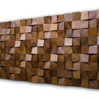 Деревянные 3D панели. Акустический диффузор.