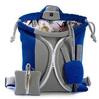 Детский рюкзак, синий цвет