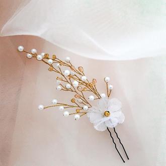 Свадебная шпилька для прически, свадебная шпилька для невесты