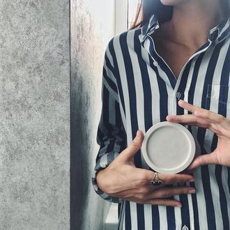 Бетонная подставка для горшков | Тарелка для украшений | Подставка под чашку | Подсвечник | Мыльница