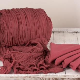 Хлопковая скатерть с салфетками набором длина 550см