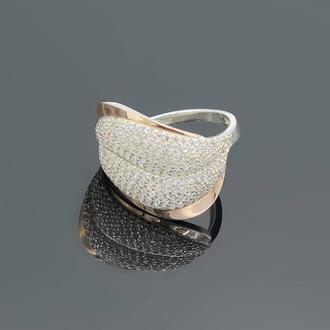 Серебряное кольцо Морская волна