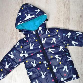 Куртка дитяча демісезонна Зайчата