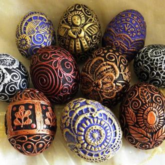 Яйцо пасхальное декоративное
