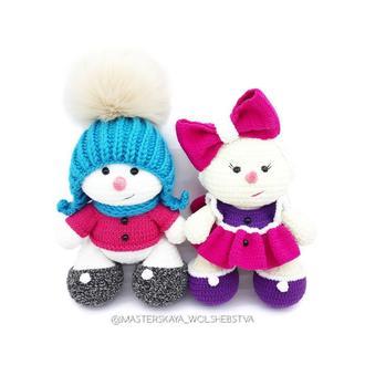 МК Снеговички. МК Снеговик. Вязаный снеговик. Снеговик. Мастер-класс снеговик. Описание снеговик