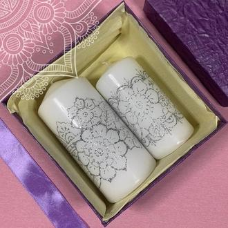 Подарочный набор свечей Мехенди