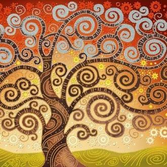 """Интерьерная картина """"Дерево счастья"""""""