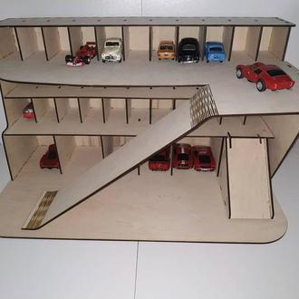 Парковка для игрушечных машинок