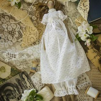 Кукла тильда Яблонька