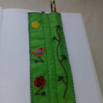 Закладка для книг «Пташки»