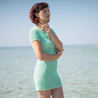 Пляжное платье (пляжная туника)