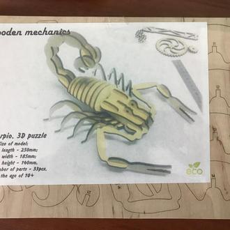 3D пазл «Скорпион»