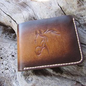 мужские кожаные портмоне,небольшие кошельки,подарок парню другу,подарок мужу,тонкие портмоне