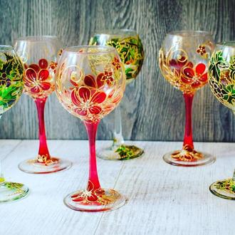 Бокалы для вина Ассорти