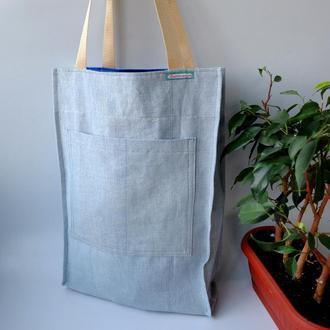 Эко сумка для покупок, сумка пакет, эко торба, хлопковая сумка шоппер 51