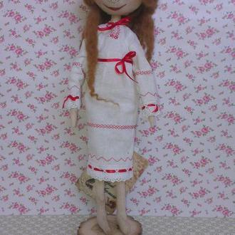 Интерьерная кукла украинка Лесная Мавка