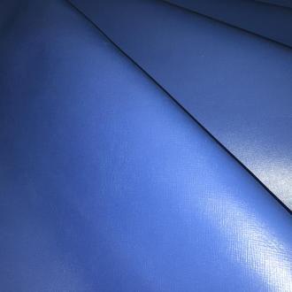 Натуральная кожа Кайзер синяя