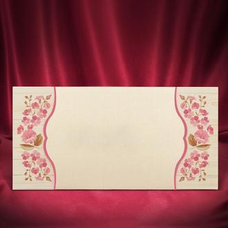 Приглашения с розовыми колокольчиками (арт. 2697)