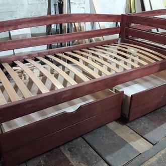Кровать флора ясень