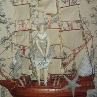 Кукла тильда - Морская фея