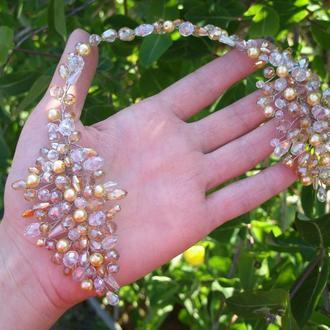 Свадебное украшение для волос, украшение для невесты, свадебное украшение для невесты