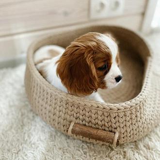 Лукошко, лежак для домашних питомцев, на подарок