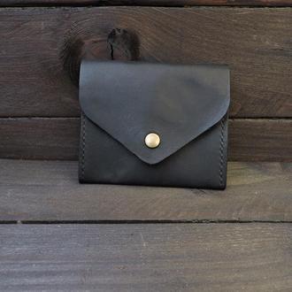 Женский кожаный кошелек, Тонкий кожаный кошелек, Маленький кожаный кошелек, Персонализированный