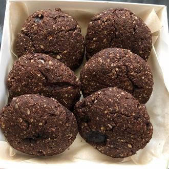 Натуральное овсяное печенье без сахара