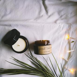 Соевая свеча, ароматизированная, 15 мл. | Свеча 100% соя