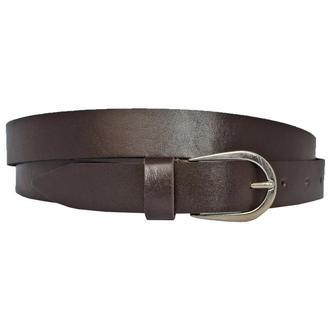 Michele25 женский кожаный ремень коричневого цвета