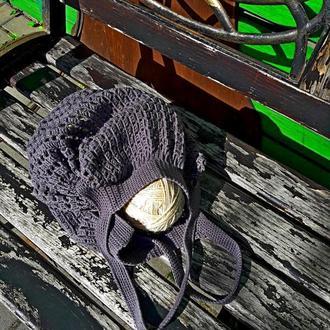 Вязаная крючком хлопковая сумка-торба