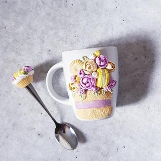 Чашечка с декором