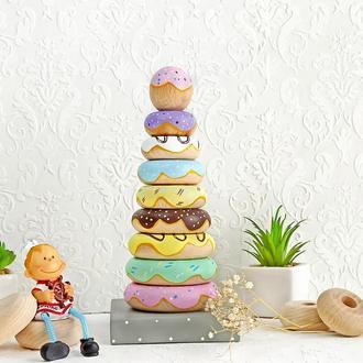 """Эко Пирамидка """"Donuts"""""""