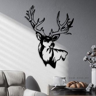 Деревянная картина Deer2