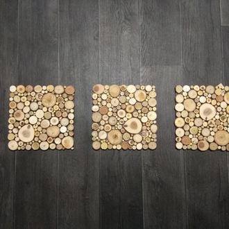 Комплект панно из трех элементов