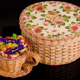 Шкатулка та цукерниця ручної роботи