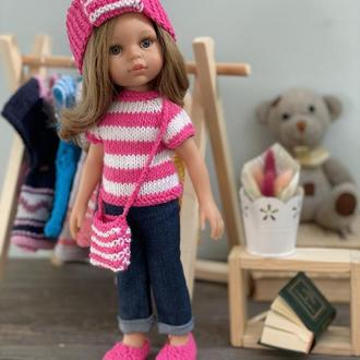 В'язана Одяг для Ляльки Паола Рейну, Набір Одягу для Паоли Рейну 32 см