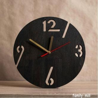 """Деревянные настенные часы """"Spectrum"""""""