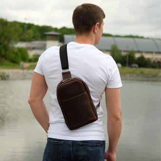 Стильная сумка через плече