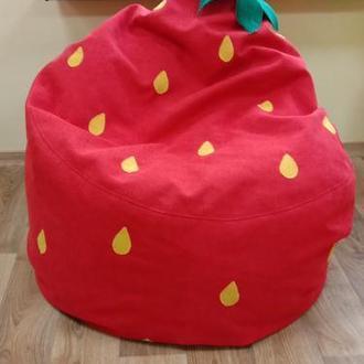 Кресло мешок клубника