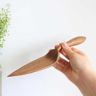 Лопатка из дерева для торта, пиццы