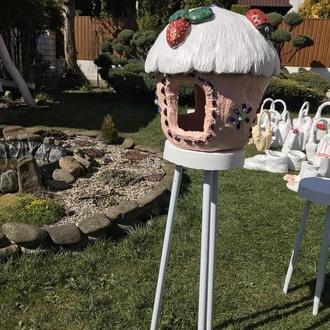 Кормушка декоративная, кормушка для птиц, кормушка декоративная