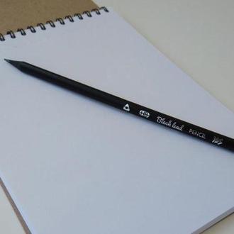 Олівець НВ з чорного дерева