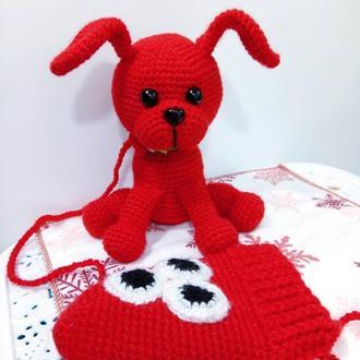 Новая Мягкая игрушка Prezzzent Собачка Варежка