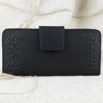 Большой кожаный кошелек К3-01
