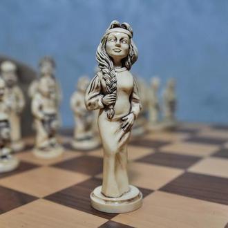 Шахматы - нарды в украинском стиле производства KIKOT HM