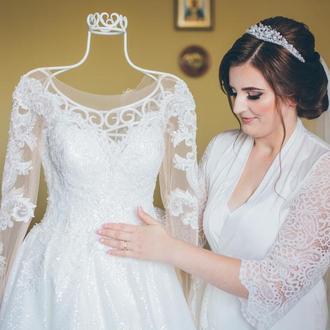 Свадебная тиара, диадема для невесты, свадебная диадема, диадема на свадьбу, свадебное украшение